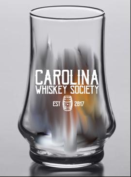 Carolina Whiskey 5.75 ounce Kenzie glass