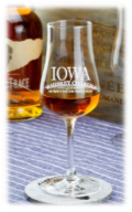 7 ounce stemmed whiskey glass (IOWA)