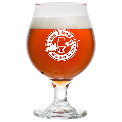 16 oz beer tulip glass (long island)