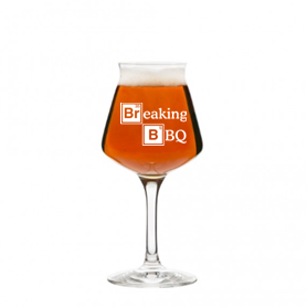 14 oz stemmed beer glass (breaking bbq)
