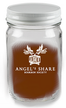 mason jar Glass 12 oz with lid (Angels Share)