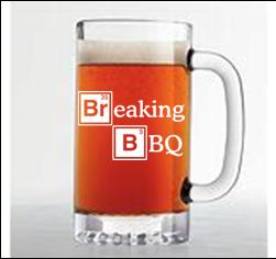 26 ounce heavy beer mug (Breaking BBQ)