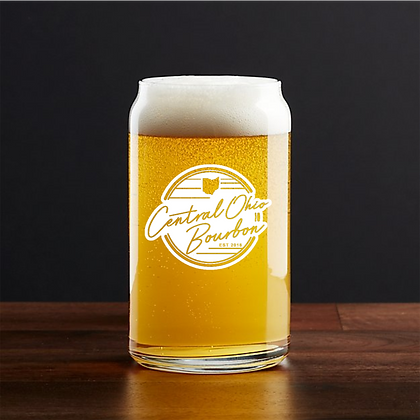 16 oz beer can glass (COB)