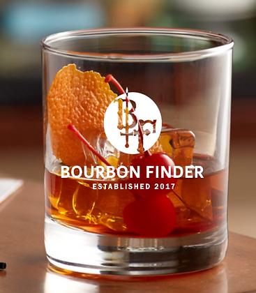 Bourbon Finder Rock Glass