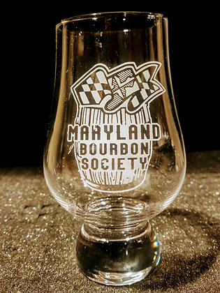 Maryland Bourbon Society Glencairn
