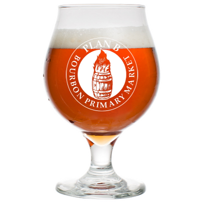 16 oz tulip beer glass (Plan B)