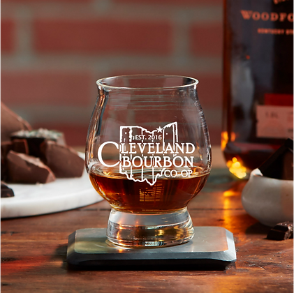 The Official Trail Glass 8 OZ Cleveland