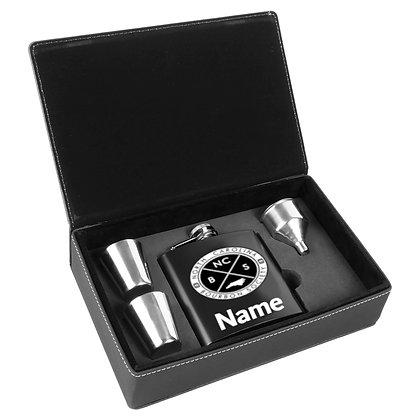 NCBC Personalized Flask Set