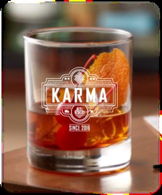 10.25 oz rock glass (KARMA)