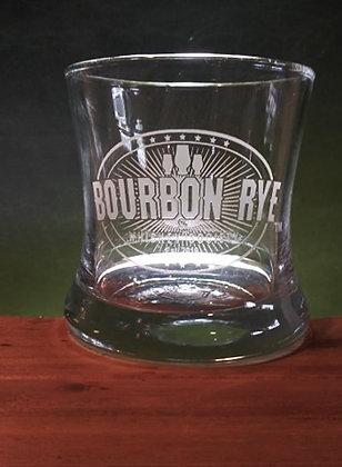 8.5 ounce Curved Bourbon Glass