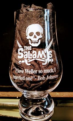 Salami Commerative Glass glencairn