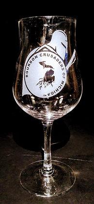 7 ounce stemmed tulip whiskey glass (BCM)