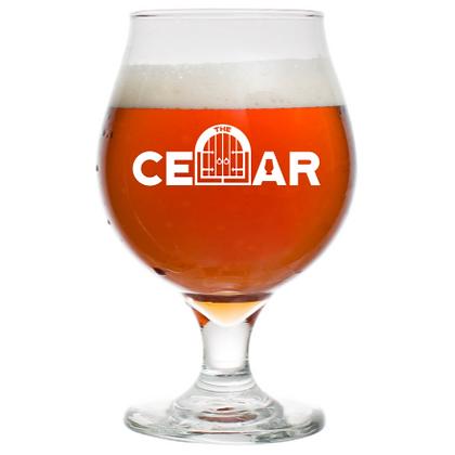 16 oz tulip beer glass (Cellar)