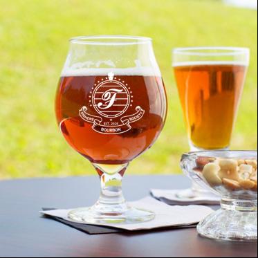 16 oz beer tulip glass (FISHER)
