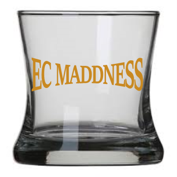 Curved Rocks Glass EC Maddness set of 2