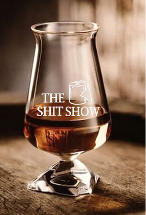 tuath 7.1 ounce glass (Shit Show)