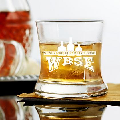 8.5 oz curved bourbon glass WBSE