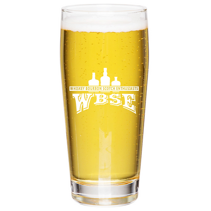 the Willie glass 16 oz (WBSE)