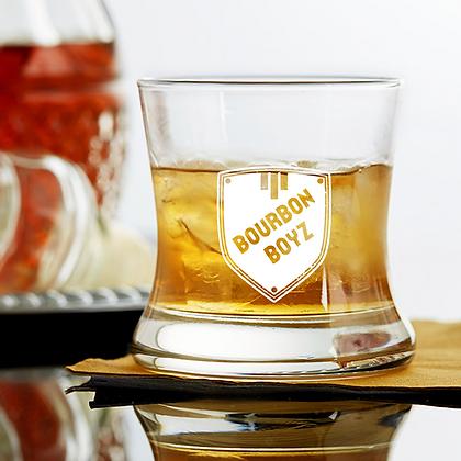 Curved Bourbon Glass 8.5 OZ (boyz)
