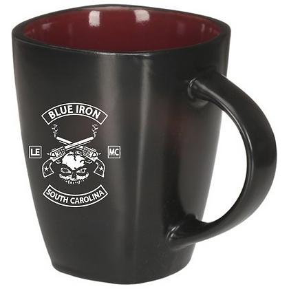 Blue Iron 14 oz Coffee cup