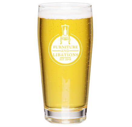 the Willie glass 16 oz (F&L)