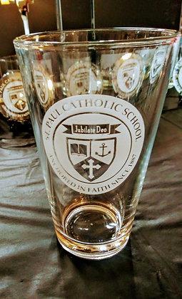 Saint Paul Pint Glass