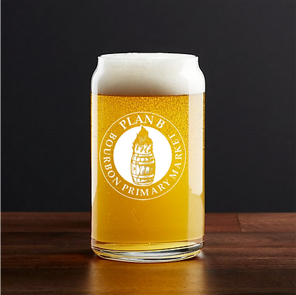 16 oz beer can glass (Plan B)