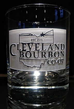 10.5 oz rock glass (cleveland) deep carved