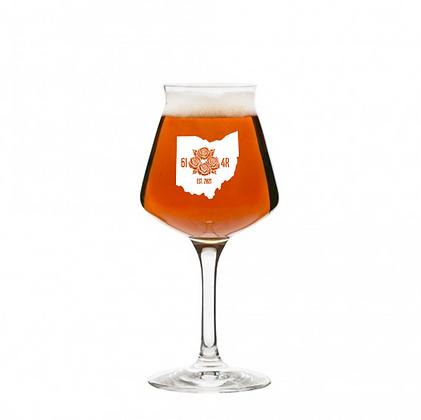 14 oz stemmed beer glass (614R)