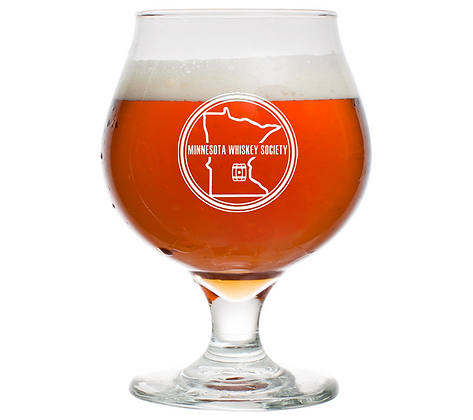 16 oz beer tulip glass (Minnesota)