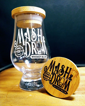 Mash and Drum Glencairn/ optional cap