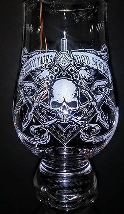 Mason style glass