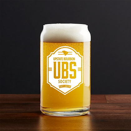 16 oz beer can glass (UBS)