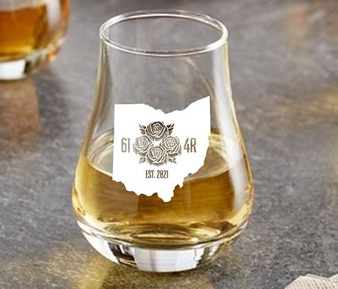 4 OR 8 oz whiskey taster (614R)