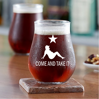 13 oz stemless beer glass (take it)