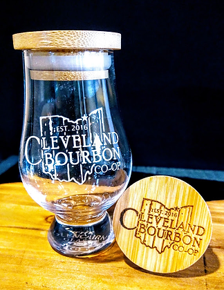 Cleveland Glencairn Glass/ optional Cap