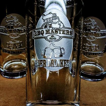 PINT GLASSES SET OF 2