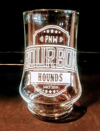 Arc kenzie hounds glass 5.75 ounce