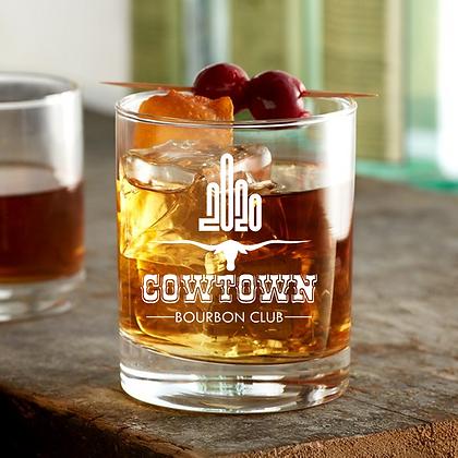 Cowtown 2020 Rock Glass