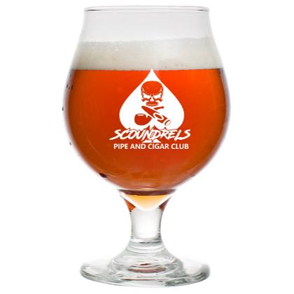 Scoundrels tulip beer glass