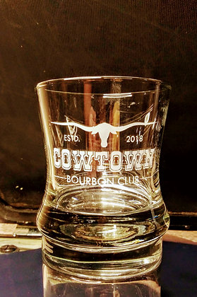 Curved Bourbon Glass (Cowtown)