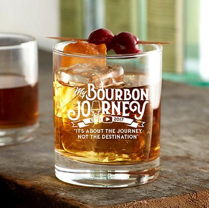10.25 oz rock glass (Bourbon Journey)