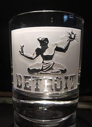 Detroit Rock Glass 7 oz