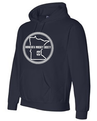 Minnesota Whiskey 12500 Gildan dryblend hoodie