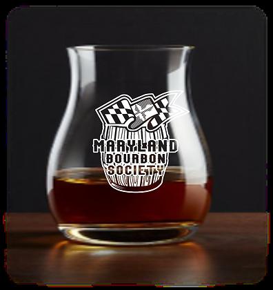 Maryland Bourbon Society Canadian Glencairn