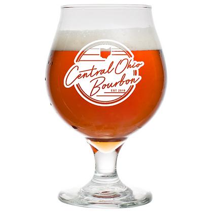 16 oz beer tulip glass (COB)