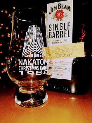 Nakatomi Christmas glass