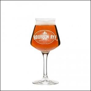 Bourbon Rye 14 oz beer blass
