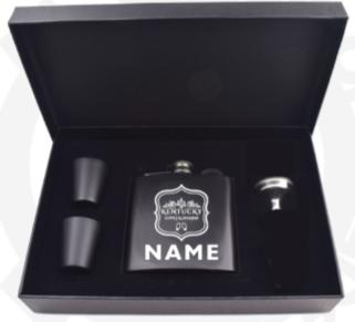 Personalized Kentucky Supply Flask set