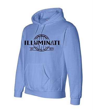 Illuminati 12500 Gildan dryblend hoodie